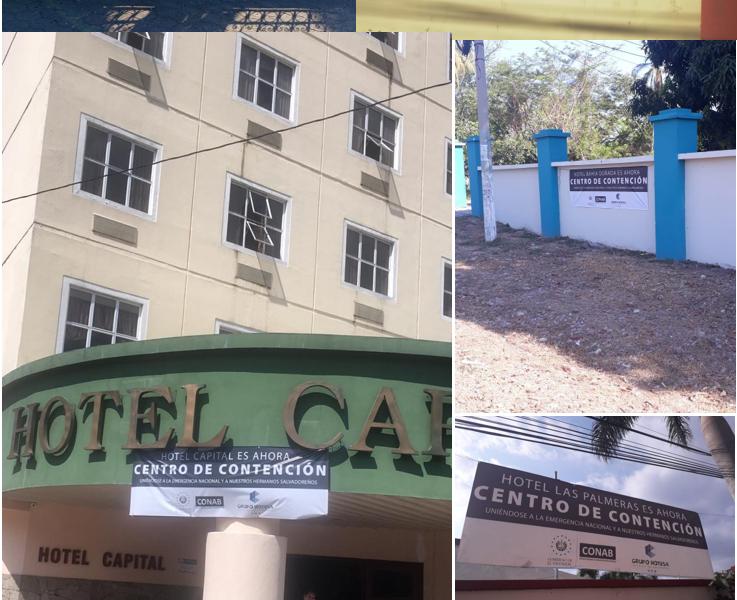 HOTESA como centro de retencion